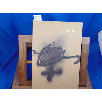 Galerie Lelong  : Tapies. Paintings...