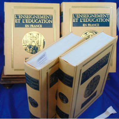 Parias Louis-henri : Histoire générale de l'enseignement en France ( complet des 4 volumes )...