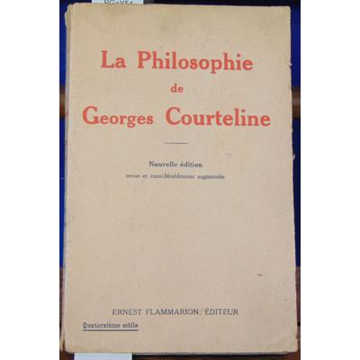 anonyme  : la philosophie de Georges Courteline...