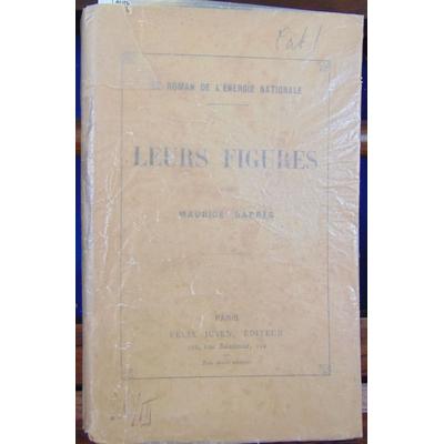 Barres Maurice : Leurs figures (avec un envoi de l'auteur)...