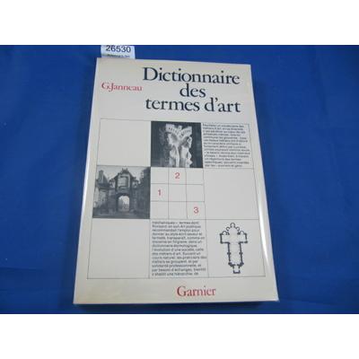 Janneau : dictionnaire des termes de l'art...