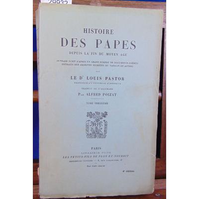 Pastor Louis : Histoire des papes...