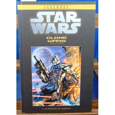 Wood  : Stars Wars. Clone Wars I : La défense de Kamino...