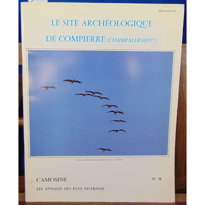collectif  : le site archéologique de compierre (Champallement )...