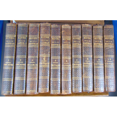 Hoffman F.-B : Oeuvres (complet en 10 volumes )...