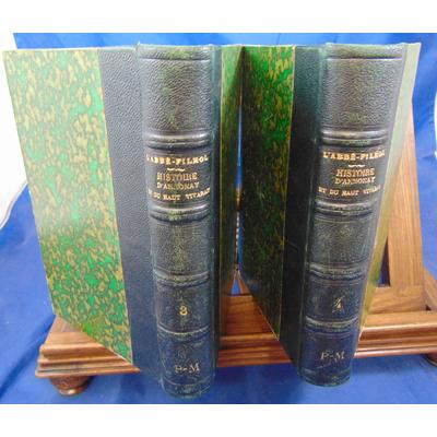 Filhol Abbé : Histoire religieuse et civile d'Annonay. tome 3-4...