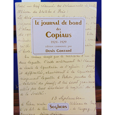 Gontard denis : Le journal de bord...