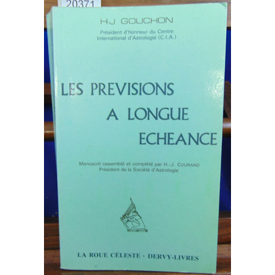 Gouchon H.-J : Les prévisions à longue échéance ...
