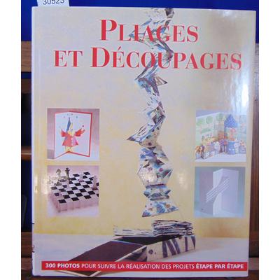 Paul Jackson : Pliages et Découpages...