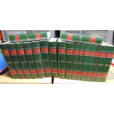Robert Paul : Le Grand Robert 18 vol. : De la langue Française 9 vol. /  des Noms Propres  5 vol. / Des Citati
