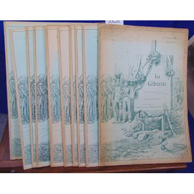Fallou L : La Giberne 12 N°. : 2e série (n-1 au N°12) 1er juillet 1901 au 1er juin 1902 ( uniformes et récits