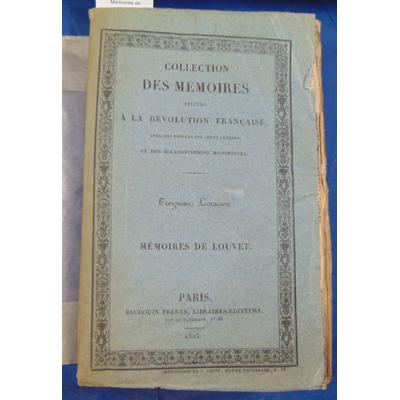 Couvray  : Mémoires de Louvert de Couvray...