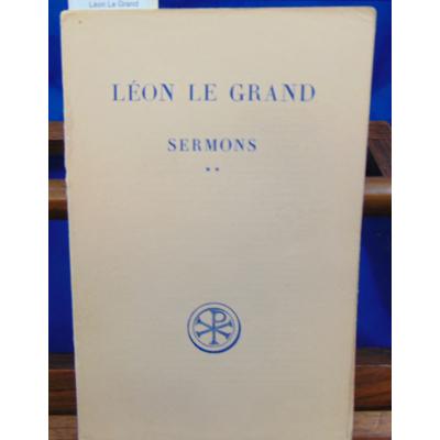 : Léon Le Grand Sermons -2...