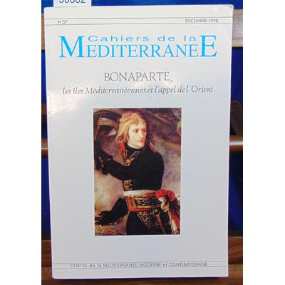 collectif  : Bonaparte, les îles méditerranéennes et l'appel de l'Orient: Actes du colloque d'Ajaccio, 29 et 3