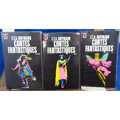 Hoffmann  : Contes fantastiques ( 3 Vol. Marabout)...