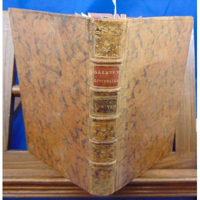 : La gazette littéraire de l'europe. Tome 8 Décembre 1765 Janvier   & février 1766...
