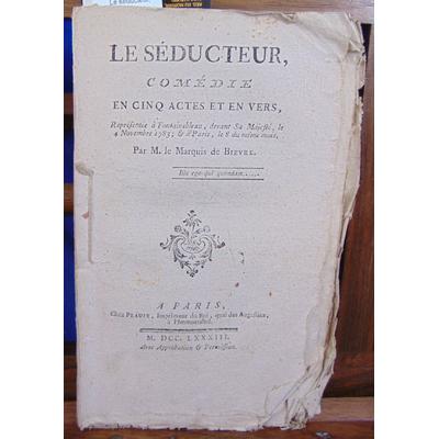 Bievre  : Le séducteur, comédie...