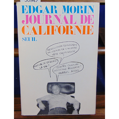 Morin Edgar : Journal de Californie...