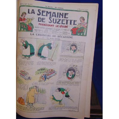 collectif  :  la semaine de Suzette 5 déc. 1935 au 26 nov 1936...