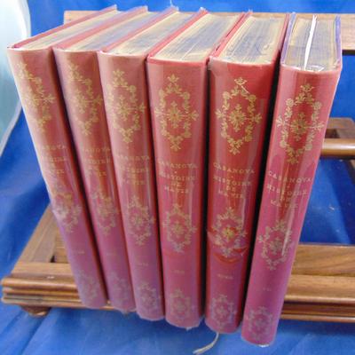 Casanova  : Histoire de ma vie. édition intégrale en 6 volumes...