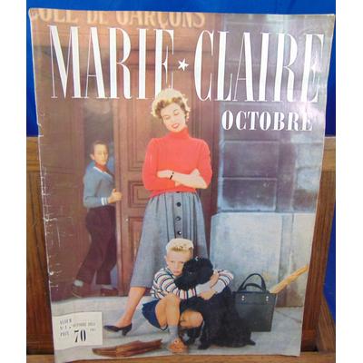 : Marie claire N°1 Octobre 1954...