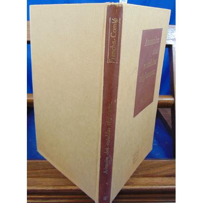 collectif  : Annuaire des notables régionaux. Franche Comté ...