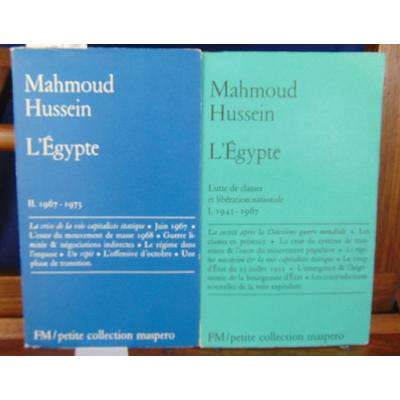 Hussein Mahmoud : L'egypte -1 : 1945 -1967 -2 : 1967-1973...