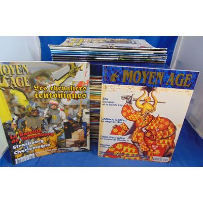 collectif  : Lot 86 revues le Moyen Age complet du  N°1 au N°79  (de nov. 97 à Décembre 2010 )...