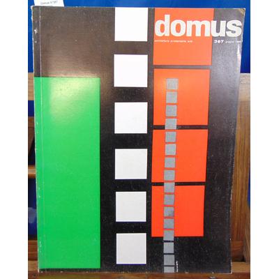 collectif  : Domus N°367 , 1960...