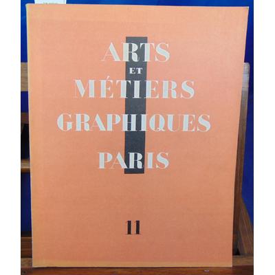 collectif  : Arts métiers graphiques N°11 Mai 1929...