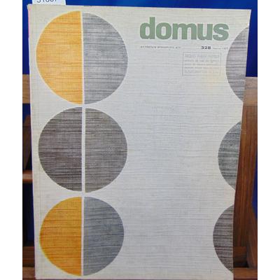 Collectif  : Domus. Architettura arredamento arte N° 328...