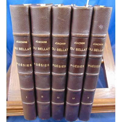 Bellay Joachim Du : poésies. texte établi et annoté par Marcel Hervier...
