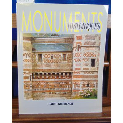 Collectif  : Monuments historiques  N° 165 Haute Normandie...