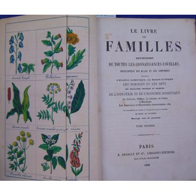 Rozières Henri de : Le Livre des familles répertoire de toutes les connaissances usuelles...