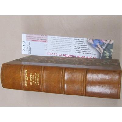 ARISTOPHANE : Les guêpes - la paix, les oiseaux - Lysistrata (texte établi par victor Coulon et traduit par H.