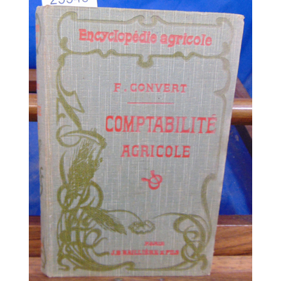 CONVERT F : Comptabilité Agricole...