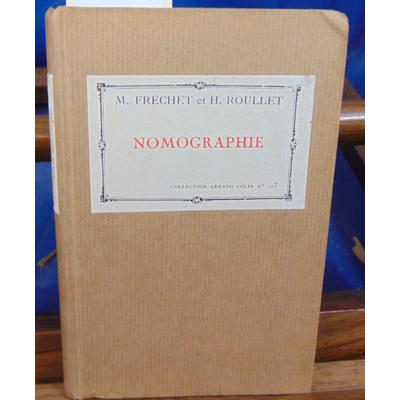 FRECHET  : Nomographie...