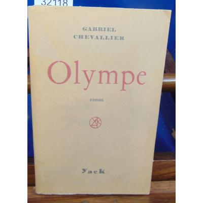 chevallier gabriel : Olympe (avec un envoi de l'auteur )...