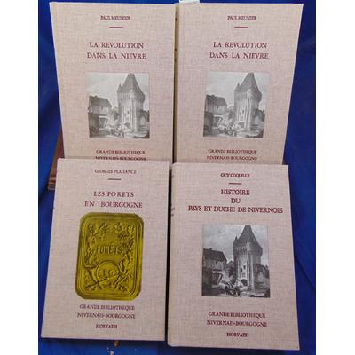Meunier / Coquille  : Grande Bibliothèque Nivernais Bourgogne : La révolution dans la Nièvre / Histoire du Pay