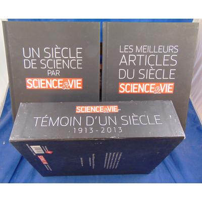 collectif  : Témoin d'un siècle : Science & Vie (1913-2013) Coffret en 2 volumes...
