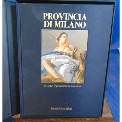Ricci  : Provincia di milano...