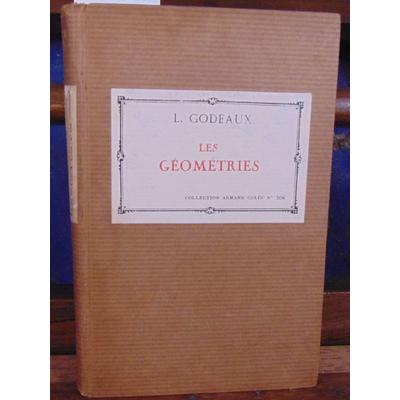 GODEAUX Lucien : Les géométries...