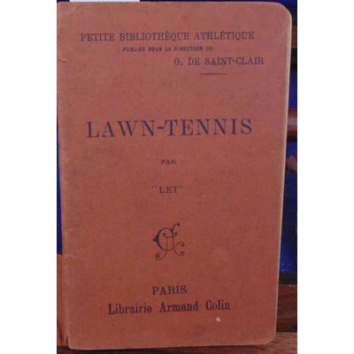 LET  : LAWN-TENNIS...