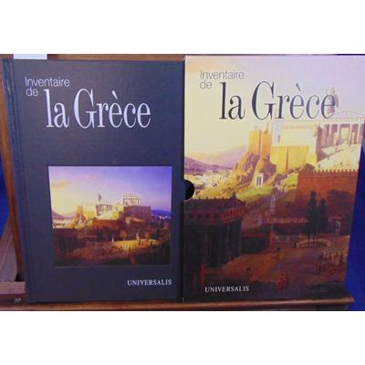 Picard  : Inventaire de la Grèce...