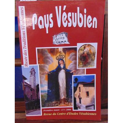 collectif  : Pays Vésubien 1ere année N°1...