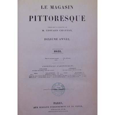 : Le magasin pittoresque 1842...