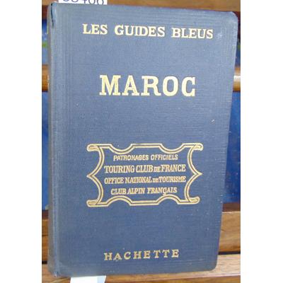 Ricard Prosper : Les guides bleus Maroc 1925...