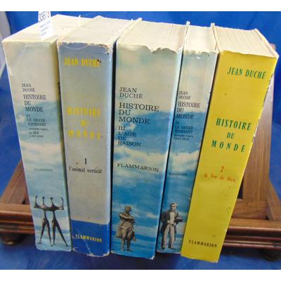 Duche Jena : Histoire du monde. complet des 5 volumes...
