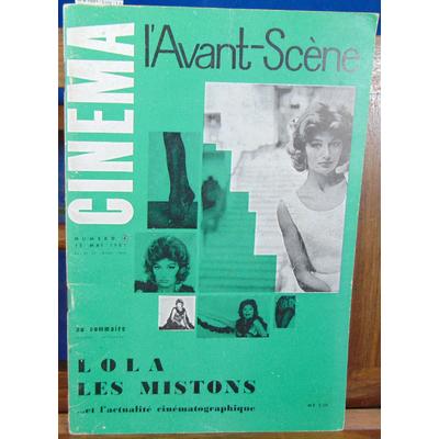 Collectif  : Avant-scène cinéma n°4 1961 : Lola - Les Mistons...