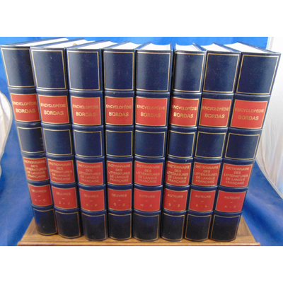 Beaumarchais Couty , Rey : Dictionnaire des littératures de langue Française. Auteurs 4 Vol./  Oeuvres 4 vol..
